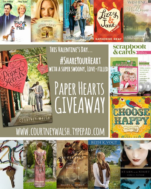 Paper Hearts Giveaway