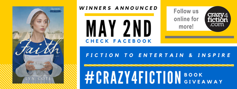 April-#Crazy4fiction-Giveaway